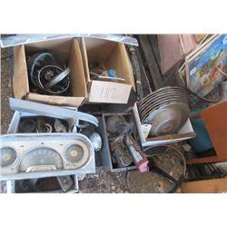 Packard Car Parts, Hubcaps, Dash, License Plate Topper, Bumper Chrome