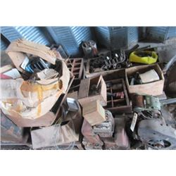 Kick Start Iron Horse Engine , Bolts, Carpentry Trays & Cable Clamps