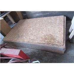 """19) OSB Plywood 50"""" x 71"""""""