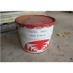 Sealed Pail Quon Shed Bolts