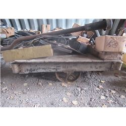 Warehouse Cart, & Various Auto Parts