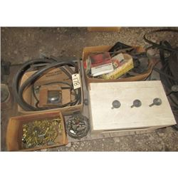 Hyd Fittingas, Bolts, Auto Parts & Mystery Gadget Box