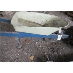 Rubber Tired Wheel Barrow
