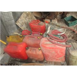 Gas Cans, Military Cans & Back Pack & Fire Water Sprayer