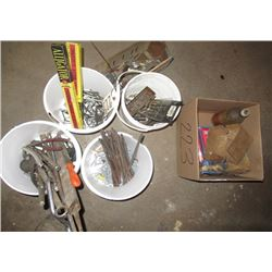 Hand Tools, Drill Bits, Punches & Allan Wrenches, Sockets, Crow Foot Wrenches