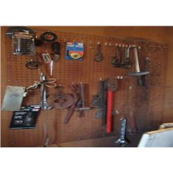 Hand Tools, Crescent Wrench, Pipe Wrenchm, Torque Wrench, & Hammer
