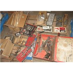 Tap & Die, Specialty Tool, Pry Set, Hammer Handles, & Riviter