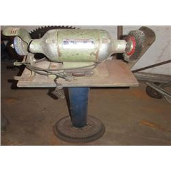 Bench Grinder On Stand