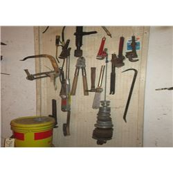 2 Snap on Torque Wrenches, Pulleys, & Pipe Wrenches