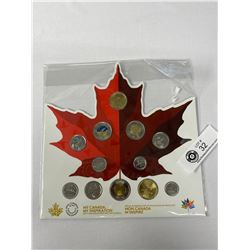 2017 Royal Canadian Mint My Canada My Inspiration Coin Set In Original Holder