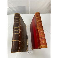 1892 And 1895 Art Journal Large Format Books