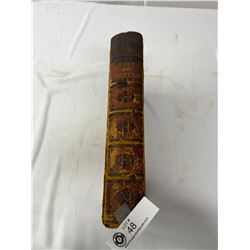 1873 The Poet And The Painter Hard Cover Book, Shows Some Wear