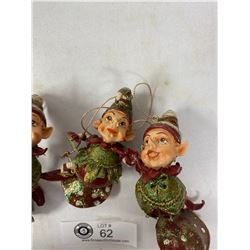 3 Boxes Of Vintage Christmas Decorations