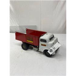 Vintage Struttco Toys Toy Land Construction Company Metal Dump Truck