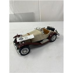 1928 Mercedes Benz 1/18 Scale Made In Italy Diecast
