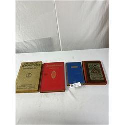 Lot Of 4 Antique Books 1893. 1913, 1914, Etc. German