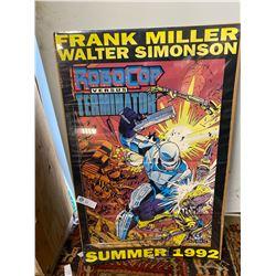 1992 Robo Cop VS Terminator Movie Poster