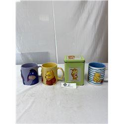 Nice Winnie The Pooh Coffee Mug Collectible Lot