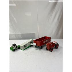 Nice Vintage Tonka Truck Trailer Plus Tractor And Trailer Lot