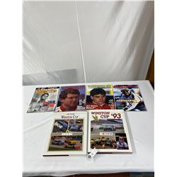 Nice Lot Of Winston Cup Hardcover Books And Magazines