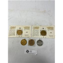 Lot Of Commemorative Medallions/Coins