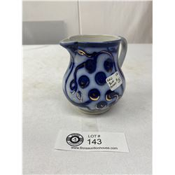 Vintage Flow Blue Pitcher