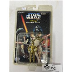 Star Wars See-Threepio Diecast Metal Keychain Still In Original Package