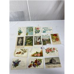 Lot Of Early Postcards 15 In Total