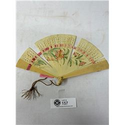 Old Ivory Look Fan Originally Priced At $180