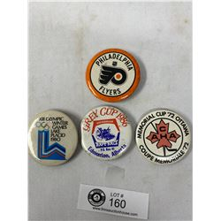 Lot Of Vintage Sports Pins