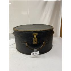 Large Vintage Hat Suitcase