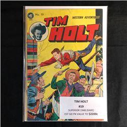 TIM HOLT #19 (SUPERIOR 1948) RARE