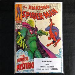 The AMAZING SPIDER-MAN #66 (MARVEL COMICS) 1968