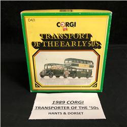 1989 CORGI TRANSPORTER OF THE 50's (HANTS & DORSET)