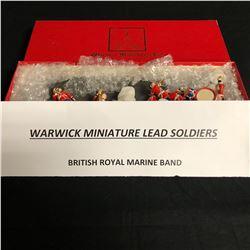 WARWICK MINIATURE LEAD SOLDIERS (BRITISH ROYAL MARINE BAND)