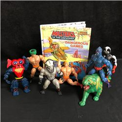 MASTERS OF THE UNIVERSE FIGURES LOT