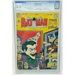 BATMAN #55 CGC 4.5 (DC COMICS) 1949