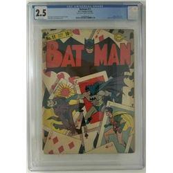 BATMAN #11 CGC 2.5 (DC COMICS) 1942
