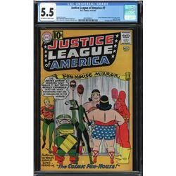 JUSTICE LEAGUE OF AMERICA #7 CGC 5.5 (DC COMICS) 1961