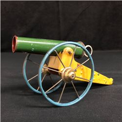 1940's STEEL TOYS CANNON