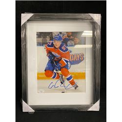 CONNOR McDAVID SIGNED 8X10 FRAMED PHOTO (BLUE ORCA CERTIFIED)