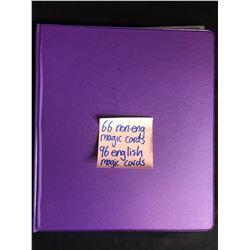 MAGIC THE GATHERING CARD LOT (66 NON-ENGLISH/ 96 ENGLISH)