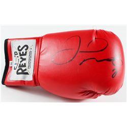 Floyd Mayweather Jr. Signed Reyes Boxing Glove (Beckett Hologram)