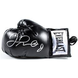 Floyd Mayweather Jr. Signed Everlast Boxing Glove (JSA COA)