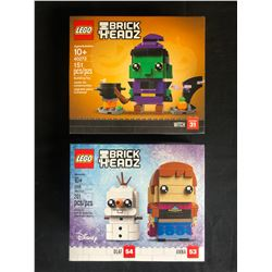 LEGO BRICK HEADZ BUILDING TOY LOT