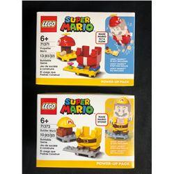 LEGO SUPER MARIO BUILDING TOY LOT (71371/ 71373)