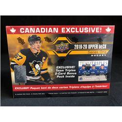 2019-20 UPPER DECK SERIES ONE HOCKEY BLASTER BOX (CANADIAN EXCLUSIVE)