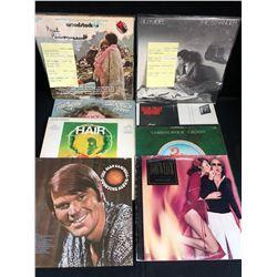 VINYL RECORD LOT (BILLY JOEL, TED NUGENT...)