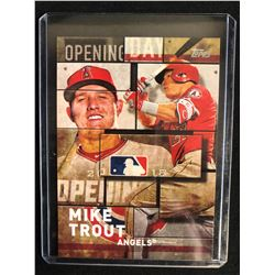 2018 TOPPS BASEBALL #OD-8 MIKE TROUT OPENING DAY