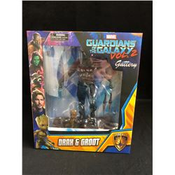 MARVEL GUARDIANS OF THE GALAXY VOL. 2 DRAX & GROOT PVC FIGURES